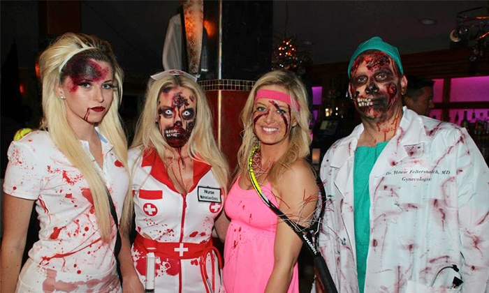 Delray Zombie Crawl - Multiple Locations: Zombie Bar Crawl Tickets for One or Two from Zombie Crawl USA (50% Off). Three Dates Available.