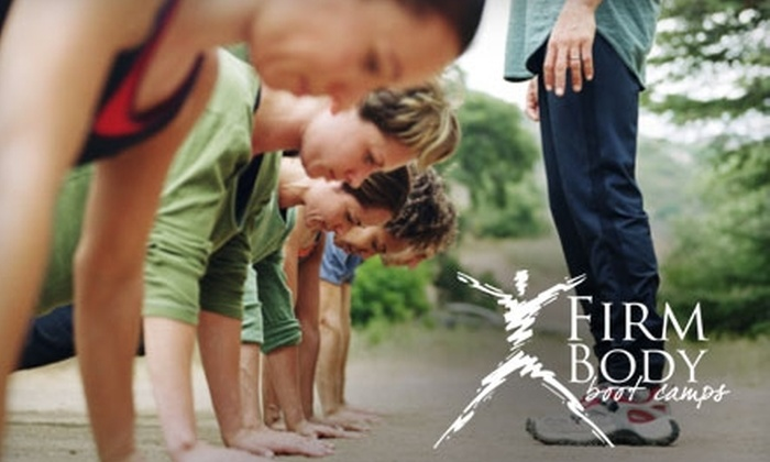 Firm Body Boot Camps - Multiple Locations: $10 for Two Weeks (Six Class Sessions) of Boot Camp and Optional Nutritional Seminar at Firm Body Boot Camps (Up to $159 Value)