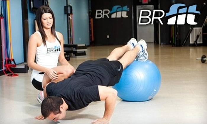 BRfit - Baton Rouge: $20 for Four Group Training Sessions ($40 Value) or $25 for One Personal Training Session ($60 Value) at BRfit