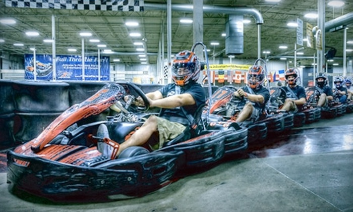 F1 Race Factory - Camelback East: $33 for Three Kart Races at F1 Race Factory