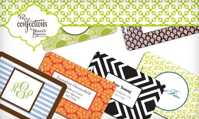 Confections by Shara's Paperie  - Denver: $15 for $30 Worth of Custom Stationery and Gifts from Confections by Shara's Paperie