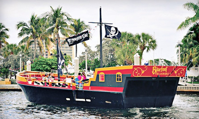 Bluefoot Pirate Adventures - Fort Lauderdale: $24 for a Pirate Treasure Hunt and Sailing Adventure for Two at Bluefoot Pirate Adventures (Up to $50 Value)