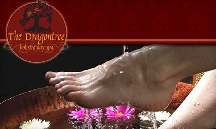 The Dragontree - Northwest District: $47 for a Mother-of-Pearl and Pumice Polish and a Milk-and-Honey Footbath at The Dragontree Holistic Day Spa