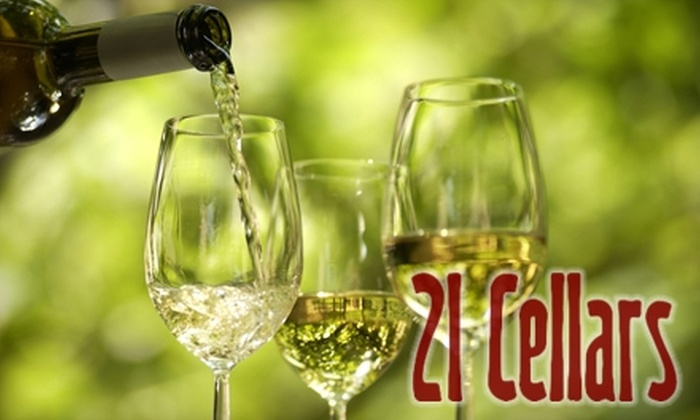 21 Cellars - North End: $19 for 30-Minute Private Wine Tasting for Up to 20 People at 21 Cellars in Tacoma (Up to $200 Value)