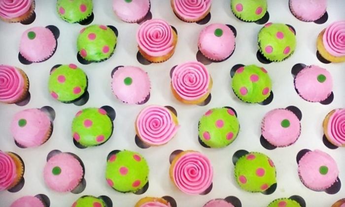 Delicately Delicious - Cedarburg: $10 for $20 Worth of Cupcakes and Cakes at Delicately Delicious in Cedarburg