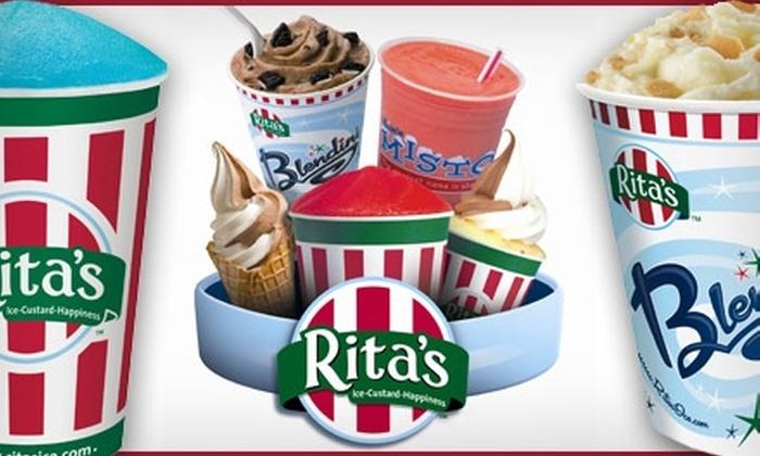 Rita's  - Multiple Locations: $12 for 10 Regular Italian Ices at Rita's ($24 Value)