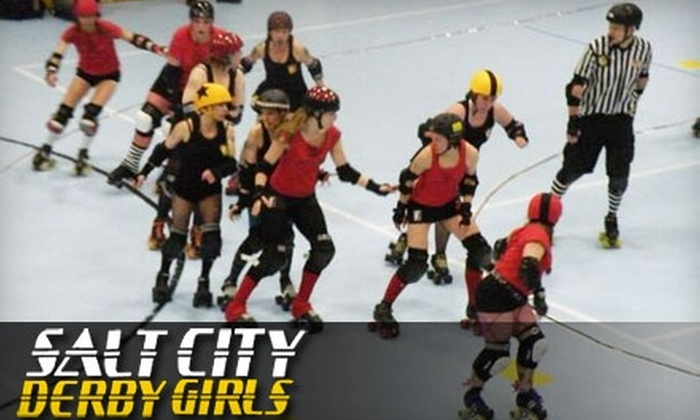 Salt City Derby Girls - Rio Grande: $6 for One General-Admission Ticket to the Salt City Derby Girls Double-Header on Saturday, September 25 (Up to $16 Value)