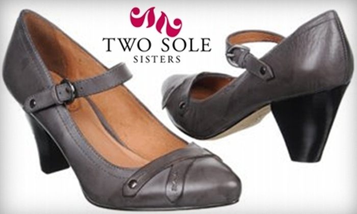Two Sole Sisters - Downtown: $40 for $80 Worth of Women's Shoes and Accessories at Two Sole Sisters in Boulder