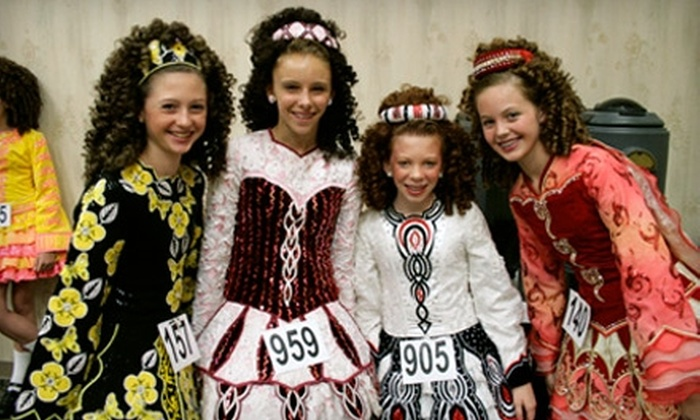 McGing Irish Dancers - Multiple Locations: $20 for Four Weeks of Group Irish Dancing Lessons at McGing Irish Dancers ($45 value)