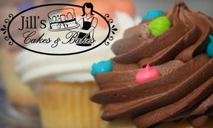 Jill's Cakes & Bakes - Canton: $13 for a Dozen Cupcakes from Jill's Cakes & Bakes (Up to $27 Value)