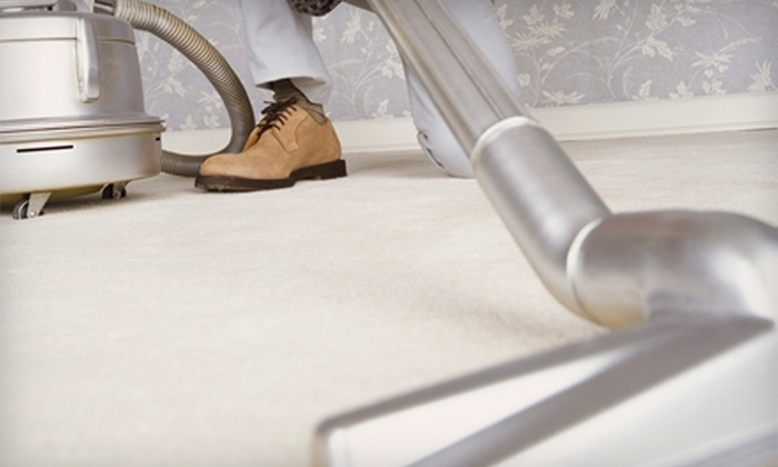 Rock Solid Carpet Cleaning: $44 for 350 Square Feet of Carpet Cleaning from Rock Solid Carpet Cleaning ($87.50 Value)