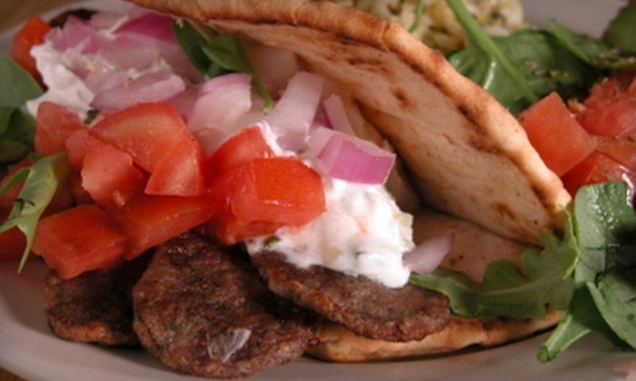 Medallen's Gyros & More - Gahanna: $5 for $10 Worth of Casual Greek Fare at Medallen's Gyros & More in Gahanna