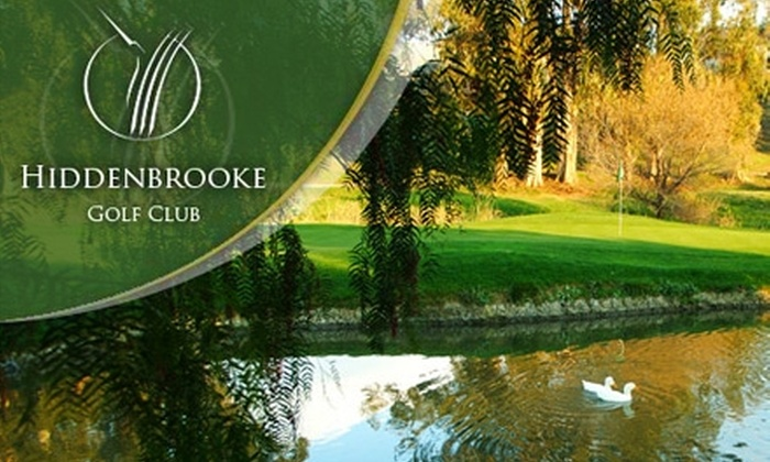 Hiddenbrooke Golf Club - Vallejo: $39 for 18 Holes of Golf, Cart, Large Bucket of Range Balls, Hot Dog, and Your Choice of Draft Beer or Fountain Drink at Hiddenbrooke Golf Club in Vallejo (Up to $82.50 Value)