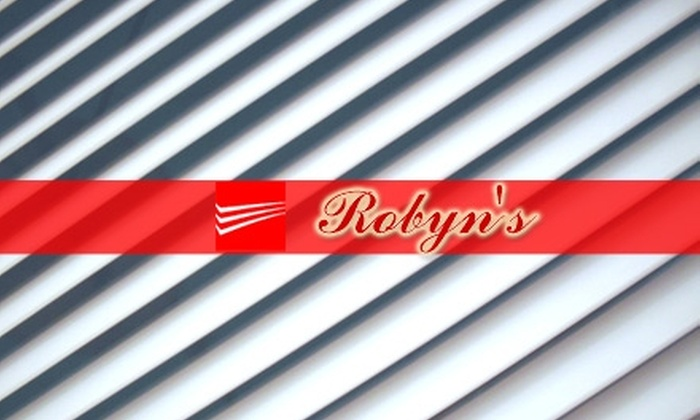 Robyn's Group - Indianapolis: $35 for an On-Site Cleaning of Four Blinds from Robyn's Group (Up to $82 Value)