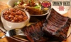 Smokin' Okies - Arcola East-North Side: $10 for $20 Worth of Southern-Style Barbecue at Smokin' Okies