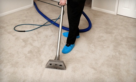 In-Home Carpet Cleaning for 3 Rooms and 1 Hallway (a $140 value) - Turbo Steamer Carpet Cleaner in