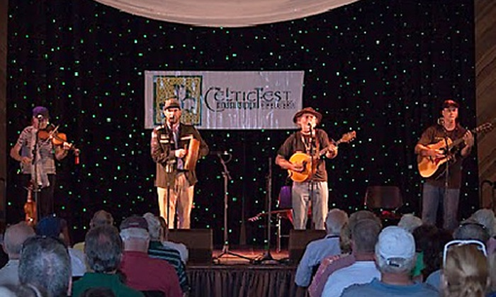 CelticFest - Jackson: $10 for Friday-Night Admission and 12 Drink or Snack Tickets at CelticFest Presented by the Celtic Heritage Society ($20 Value)