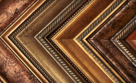 $100 Groupon to Framagraphic Picture Framing & Gallery - Framagraphic Picture Framing & Gallery in Vancouver