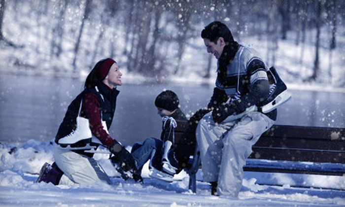 Skate the Lake New Year's Eve Winter Festival - Evergreen West: Skate the Lake New Year's Eve Winter Festival Outing for Two, Four, or Six in Evergreen (Up to 57% Off)