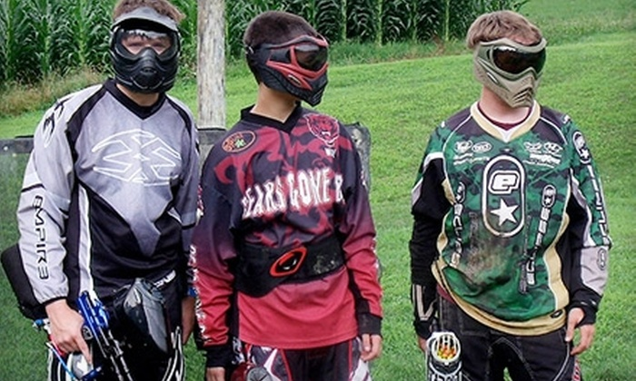 Sure Shot Paintball - Quarryville: $22 for an All-Day Paintball Pass to Sure Shot Paintball in Quarryville (Up to $45 Value)