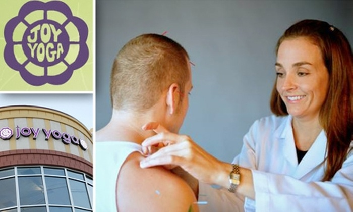 Joy Yoga Center - Houston: $30 for Initial Assessment and Acupuncture at Joy Yoga Center
