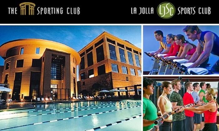 The Sporting Club and La Jolla Sports Club - Village: 29 Visits to The Sporting Club and La Jolla Sports Club for $29