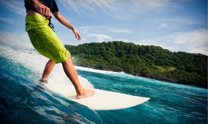 Costa Azul - Laguna Beach: Private Surfing Lessons for Two at Costa Azul in Laguna Beach