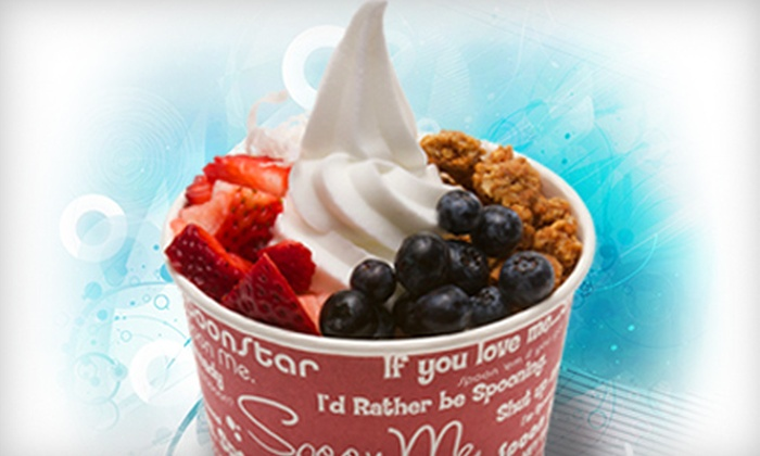 Spoon Me - Boise: $4 for $8 Worth of Self-Serve Frozen Yogurt at Spoon Me