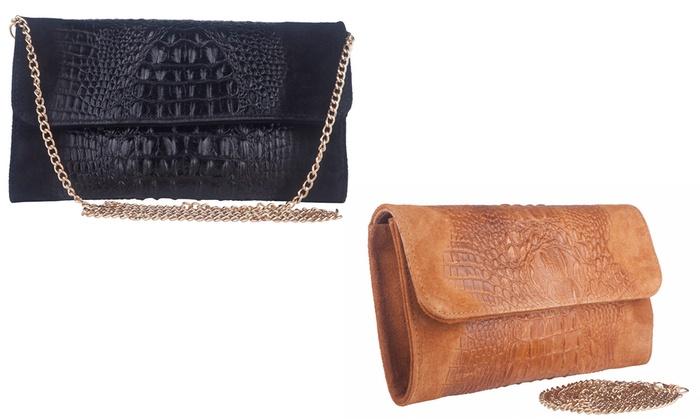 43575fac79d6 Marla Fiji Leather Clutch Bag
