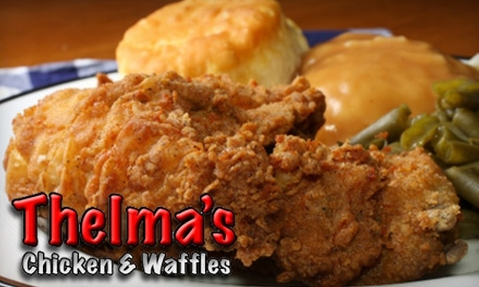 Thelma's Chicken and Waffles - Roanoke: $7 for $15 Worth of Comfort Fare at Thelma's Chicken & Waffles