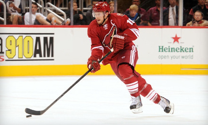 Phoenix Coyotes - Glendale: Two or Four Tickets to See the Phoenix Coyotes at Jobing.com Arena in Glendale on December 23 or January 7