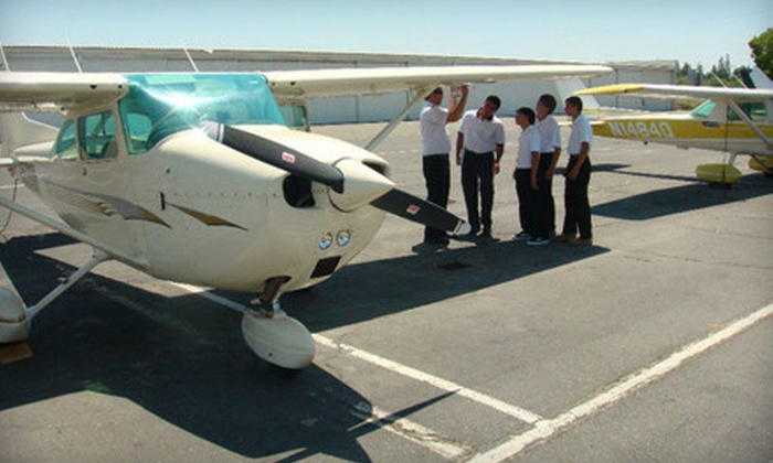 Future Eagles Aviation - Livermore: $99 for a Three-Hour Discovery Flying Lesson and One-Hour Flight from Future Eagles Aviation in Livermore ($249 Value)