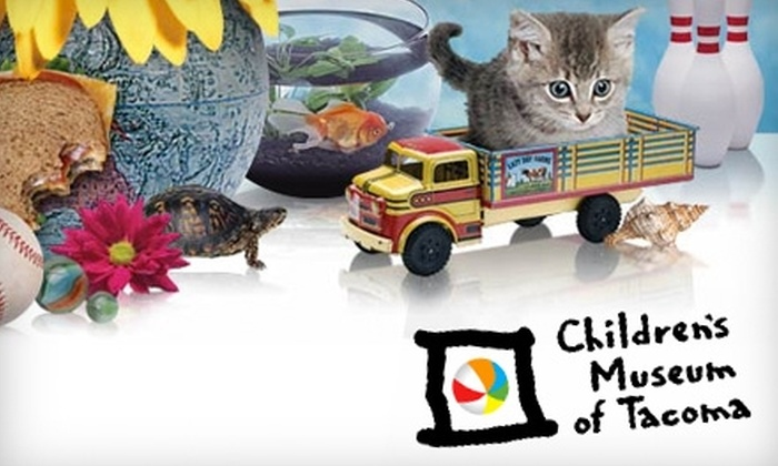 Children's Museum of Tacoma - New Tacoma: $3 for One General Admission ($6 Value) or $15 for a Three-Month Family Membership ($30 Value) to the Children's Museum of Tacoma