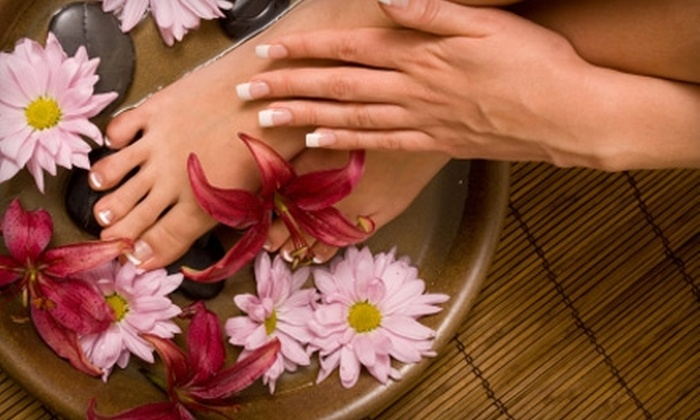 Lotus Day Spa - Downtown: $29 for Classic Manicure and Choice of Lotus Pedicure or Luxurious Lavender Candle Pedicure at Lotus Day Spa in Burlingame
