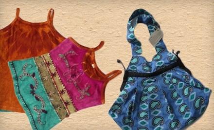 $50 Groupon to Anjika Earthy Fashions - Anjika Earthy Fashions in