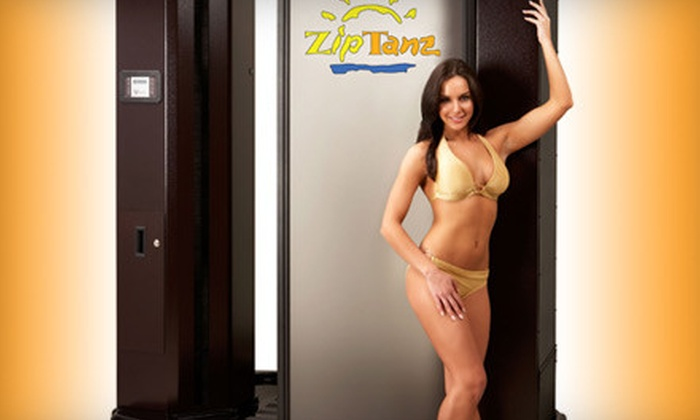 ZipTanz - Livonia: One-Month of Unlimited Silver or Gold Tanning or Platinum Spray Tanning at ZipTanz in Livonia (Up to 63% Off)