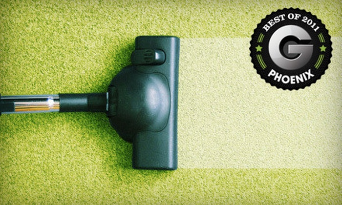 Orbit Cleaning - Rayburn Acres: $59 for Three Rooms of Carpet Cleaning from Orbit Cleaning ($125 Value)