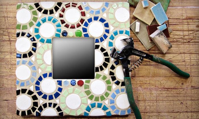 Mercury Mosaics - Minneapolis: Beginners' or Advanced Mosaic Class at Mercury Mosaics (Up to 56% Off)