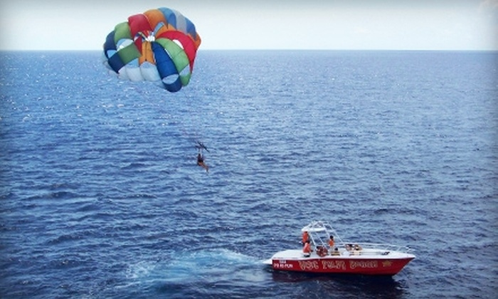 Visit Palm Beach - Palm Beach Shores: $89 for a Tandem-Parasailing Experience for Two with a Photo Package from Visit Palm Beach (Up to $195 Value)