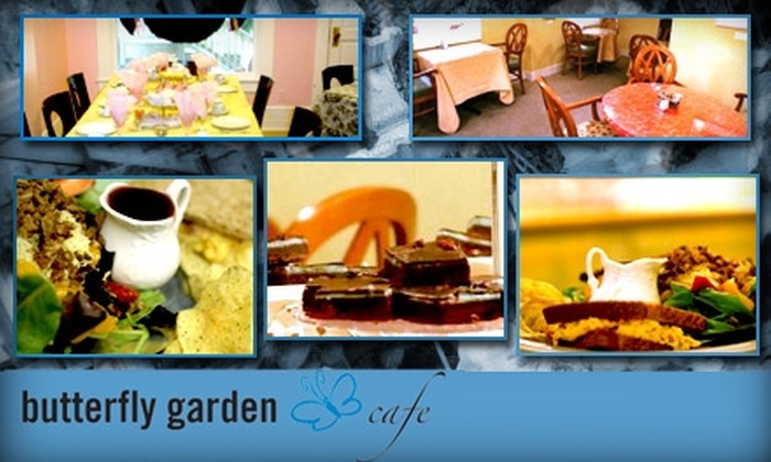Butterfly Garden Cafe - Multiple Locations: $10 for $20 Worth of Light Cafe Fare, Drinks, and Desserts at Butterfly Garden Cafe