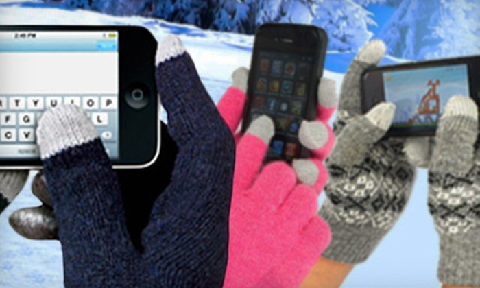 Smarttipsgloves.com: One or Two Pairs of Touchscreen-Compatible Gloves from Smart Tips Gloves (Up to 58% Off)