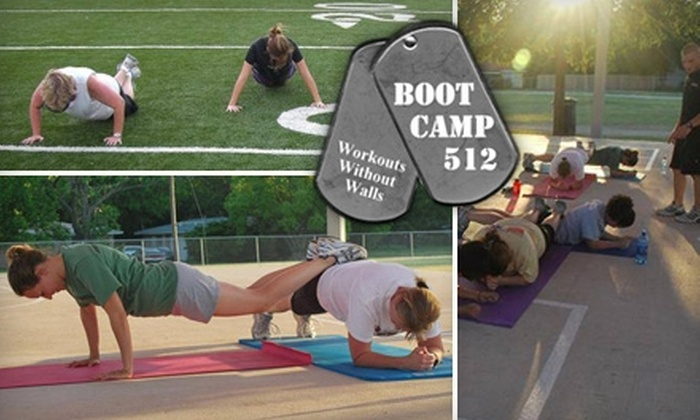 Boot Camp 512 - Multiple Locations: $69 for Four Weeks of Unlimited Boot Camp at Boot Camp 512