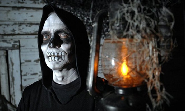 Nights of Fear - Grand Rapids: Two General-Admission Tickets or Two Fast-Pass Tickets to Four Haunted Houses at Nights of Fear