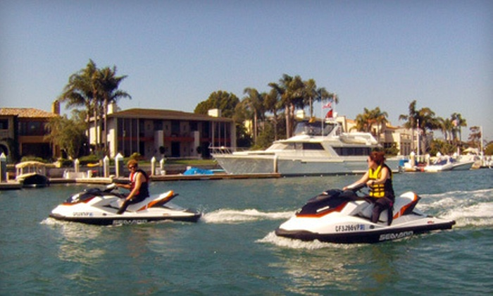 Balboa Water Sports - Balboa Peninsula Point: Two-Hour Jet-Ski Rental or Two-Hour Guided Sea Doo Ride for Two at Balboa Water Sports in Newport Beach (Up to 51% Off)