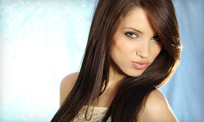 Luna Salon & Spa - Sheepshead Bay: Haircut, Style, and Conditioning at Luna Salon & Spa in Brooklyn. Partial and Full Highlight Options Available (Up to 69% Off).