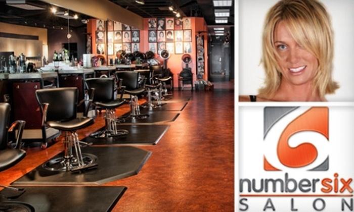 Number Six Salon - Farmington: $35 for $100 Worth of Salon Services at Number Six Salon