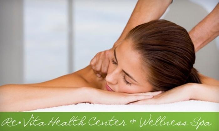 Re-Vita Health Center - Arlington Heights: $29 for a One-Hour Acupressure Massage at Re-Vita Health Center & Wellness Spa in Arlington Heights
