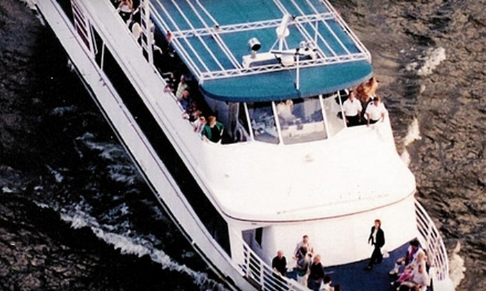 Hudson River Adventures - Newburgh: $10 for One Tour Admission Aboard the _Pride of the Hudson_ from Hudson River Adventures in Newburg (Up to $20 Value)