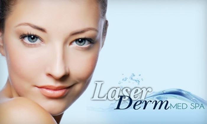 Laser Derm Med Spa - Brownsville: $99 for Four Laser Hair-Removal Sessions at Laser Derm Med Spa