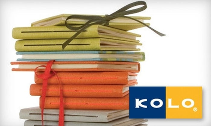 Kolo: $22 for Two Hardcover Noci Photo Albums with 25 Photos Each from Kolo ($48.50 Value)